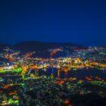 長崎市の稲佐山からの夜景